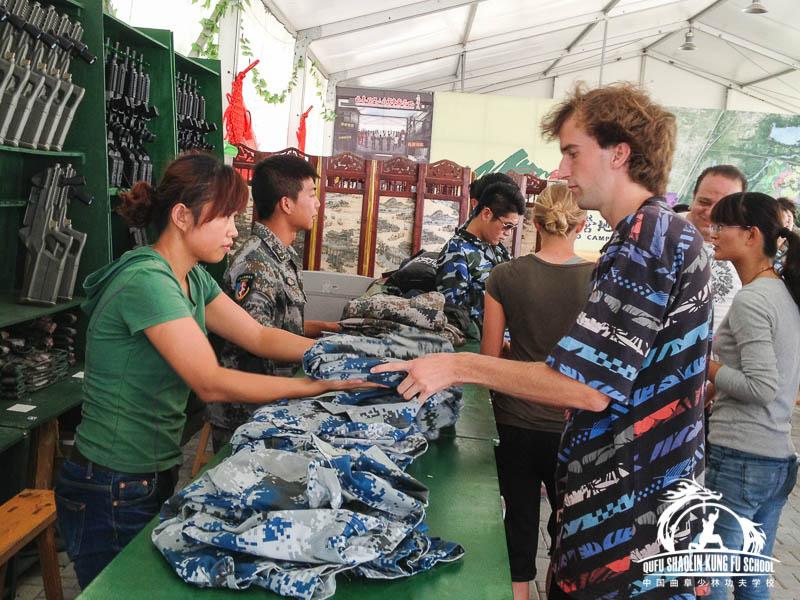 Lasser Attack Qufu shaolin Kung Fu School