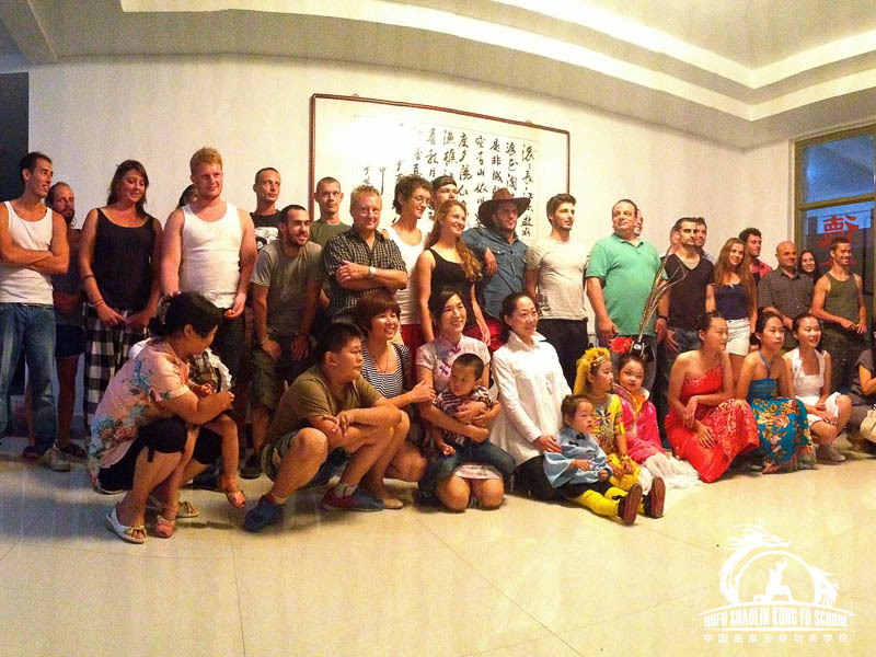 Fotos Grupales Qufu Shaolin Kung Fu School