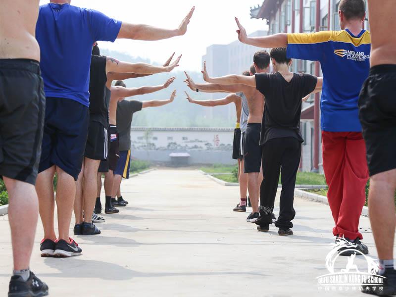 Ejercicios Basicos de Shaolin Kung Fu