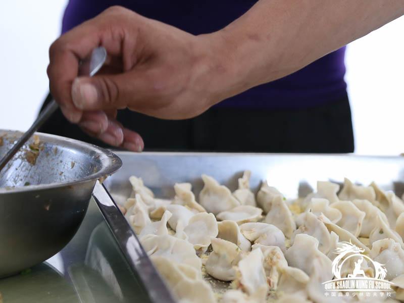 Dumplings Qufu Shaolin Kung Fu School